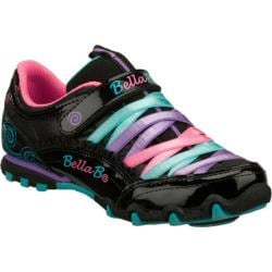 Girls' Skechers Bella Ballerina Prima Sweet Spun Black/Multi