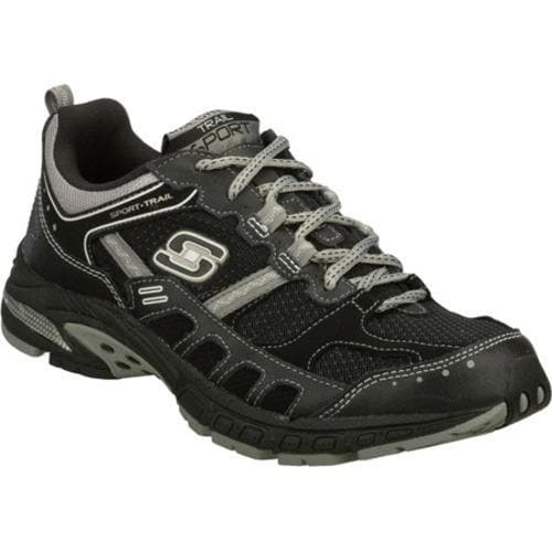 Men's Skechers Equilibrium Black/Gray
