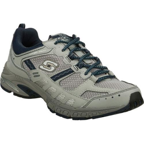 Men's Skechers Equilibrium Gray/Navy