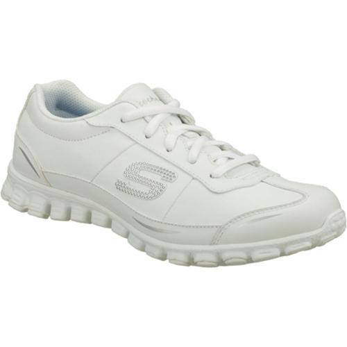 Women's Skechers EZ Flex Bewilder White