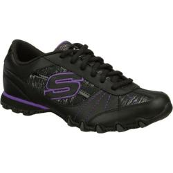 Women's Skechers Bikers Fiesta Black/Purple