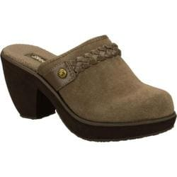 Women's Skechers Disco Bunny Mirror Ball Brown/Brown