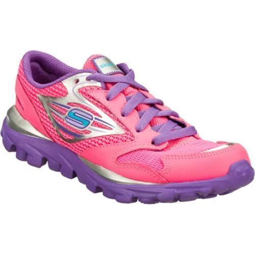 Girls' Skechers GOrun Pink/Purple