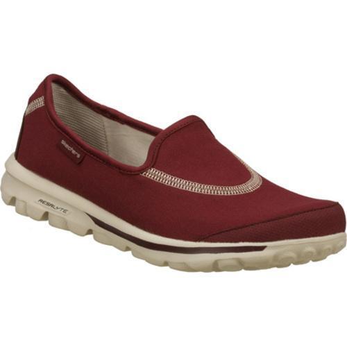 Women's Skechers GOwalk Red/Red