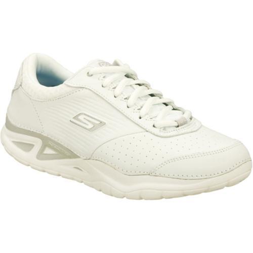 Women's Skechers GOwalk Elite White/Silver