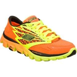 Women's Skechers GOrun Ride Warrior Orange/Lime