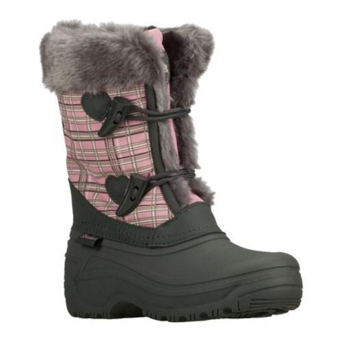 Girls' Skechers Lil Frost Hazy Days Gray/Pink
