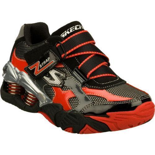 Boys' Skechers Mega Flex Pistonz Imbue Black/Red