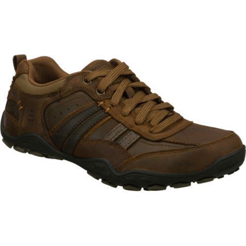 Men's Skechers Pebble Galeno Dark Brown