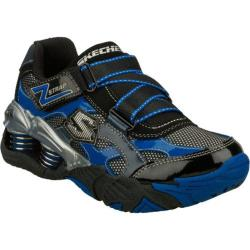 Boys&#39; Skechers Mega Flex Pistonz Imbue Black/Blue