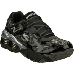 Boys' Skechers Mega Flex Pistonz Imbue Black/Gray