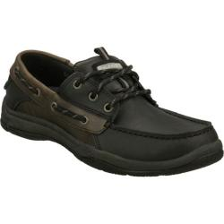 Men's Skechers Relaxed Fit Valko Burton Black