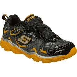 Boys' Skechers Serrated Black/Gold