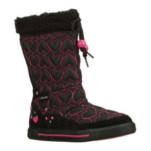 Girls' Skechers Streetsmarts Exclusives Black/Pink