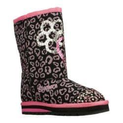 Girls' Skechers Twinkle Toes Keepsakes Girl Adventure Black/Pink