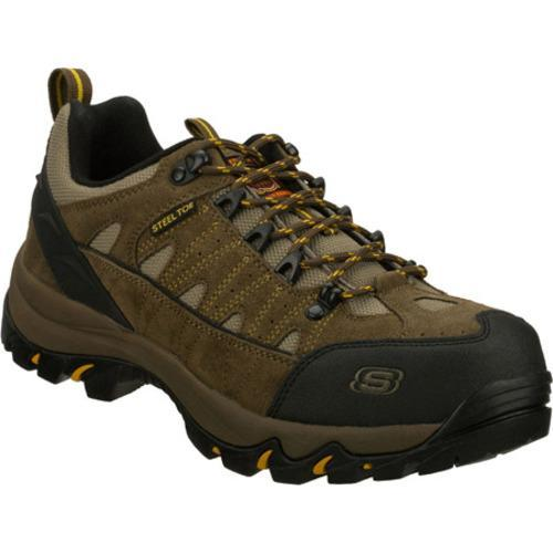 Men's Skechers Work Alp Brown/Black