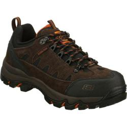 Men's Skechers Work Alp Brown