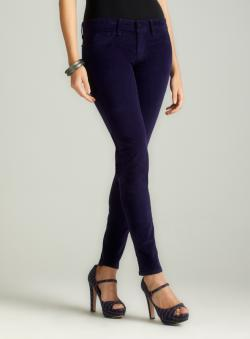 Fragile Skinny Cordorouy In Navy