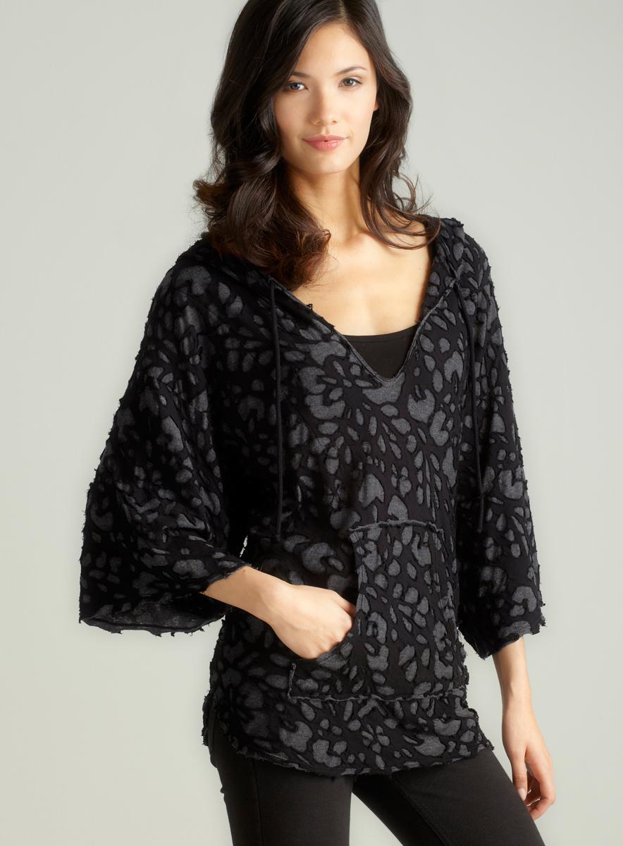 XCVI Black Pullover Tunic