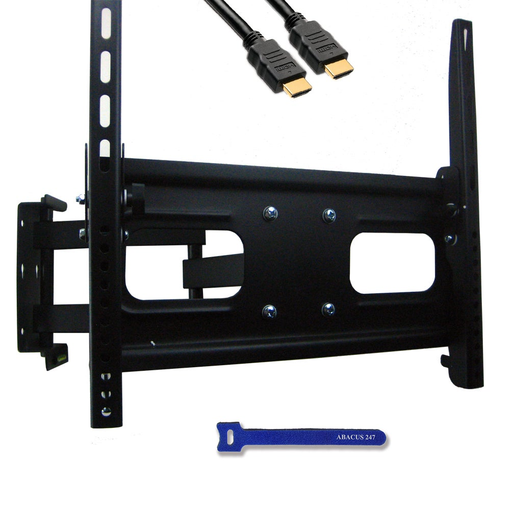 "Tilt / Swivel Adjustable Arm Wall Mount for Sony Panasonic Samsung Vizio Philips LED LCD Plasma LG 32-42"" HDTV TV"