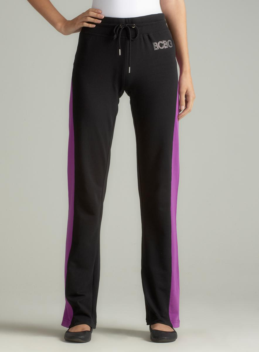 BCBG French Terry Colorblock Pant