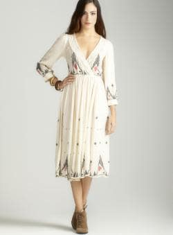 Free People Crinkle gauze splendor dress