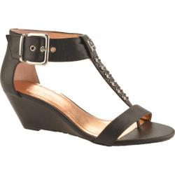 Women's BCBGeneration Vella Black Madras Leather