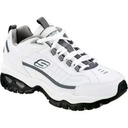 Men's Skechers Energy After Burn White/Charcoal