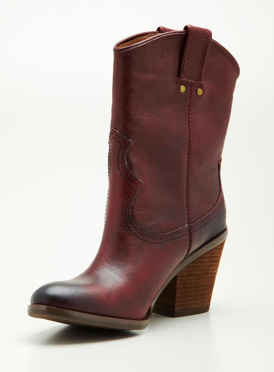 Lucky Brand Lb Mh Western Boot W/Tabs