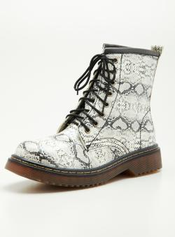 Wanted Combat Boot Laceup
