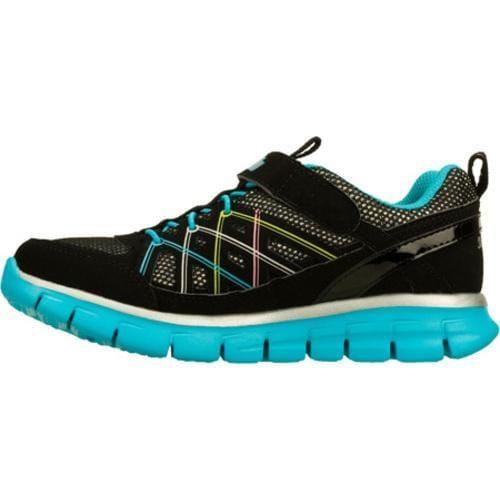 Girls' Skechers Sporty Shorty Synergy Aerials Black/Multi