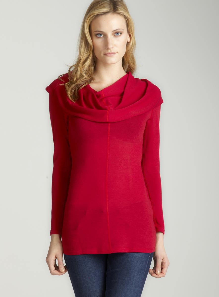 Annalee + Hope Cowl Neck Tunic
