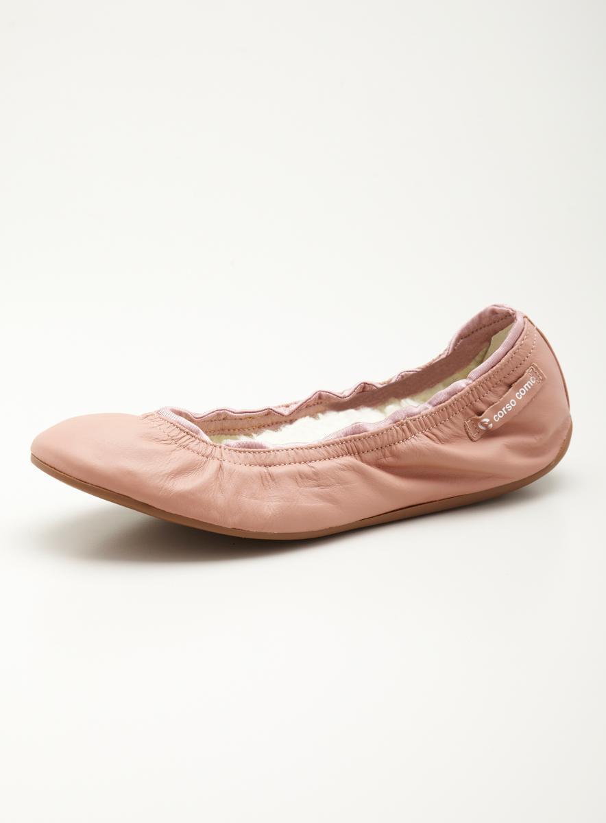 Ballasox Glau Fleece Lined Flat In Rose