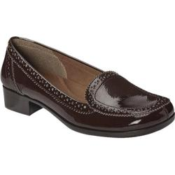 Women's Aerosoles Enterprise Brown Patent