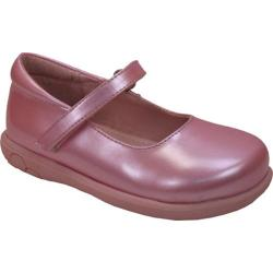 Girls' Willits Mary Pink Pearlized Leather