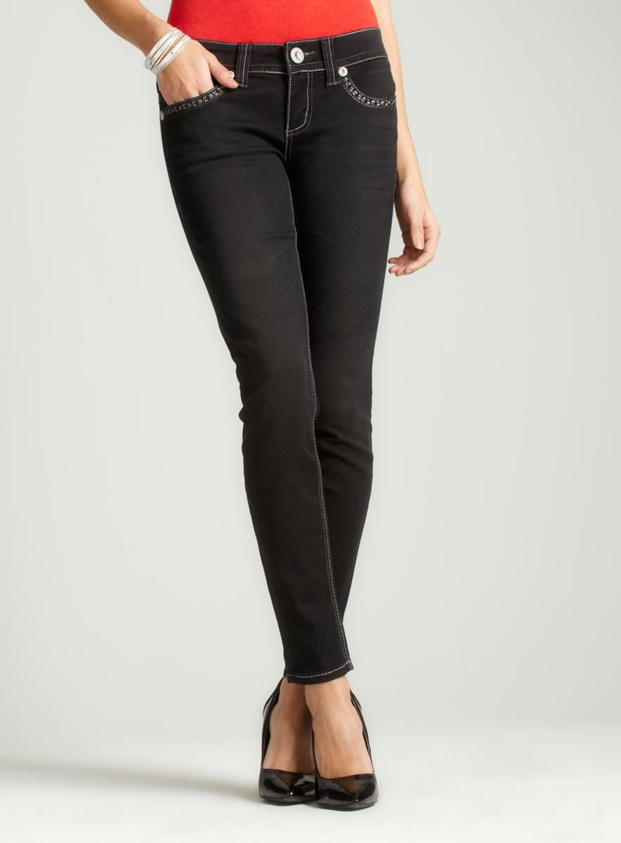 Seven7 Miracle Skinny W/ Stud Pocket