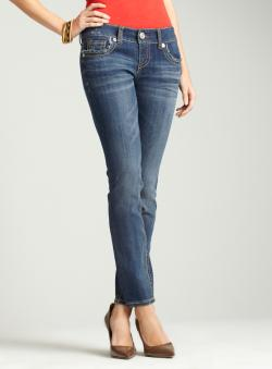Seven7 Angel Skinny W/ Double 7 Pkt