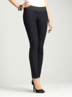 Seven7 Blue Pull On Jegging
