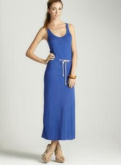 Anama Rope Drawstring Maxi Dress A