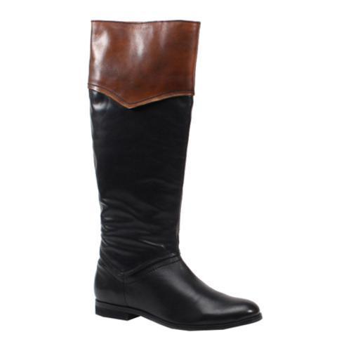 Women's Luichiny Park City Black/Cognac Leather