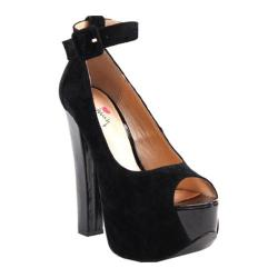 Women's Luichiny More of It Black Imi Suede