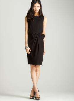 Premise Sleeveless dress with bow