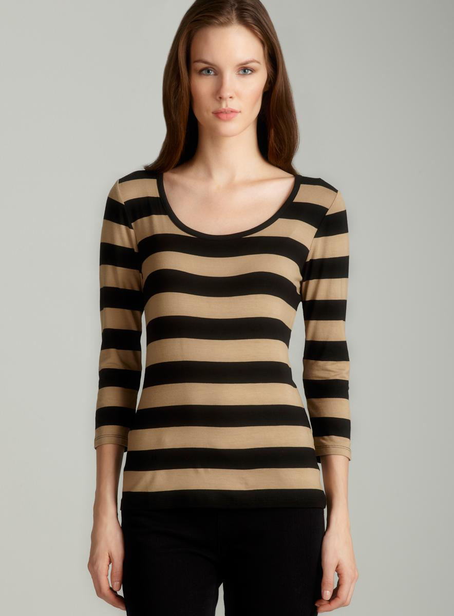 Tahari Nevada striped knit