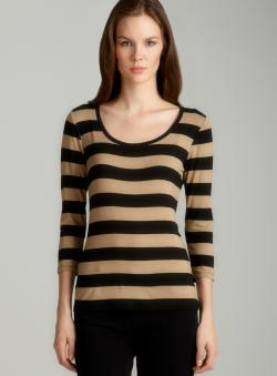 Tahari Nevada striped knit