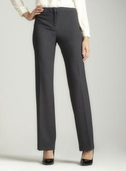 Calvin Klein Stretch bootcut pant in grey