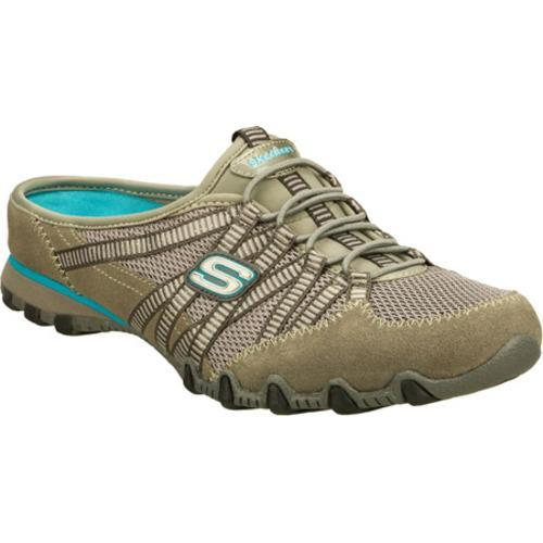 Women's Skechers Bikers Out and About Gray/Gray
