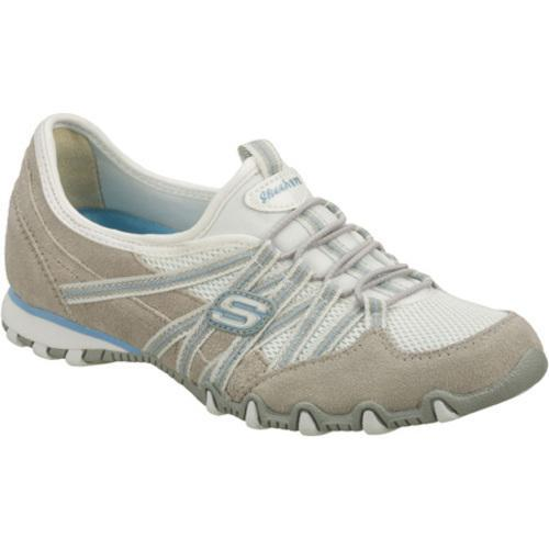 Women's Skechers Bikers Stereo Sound Gray/White