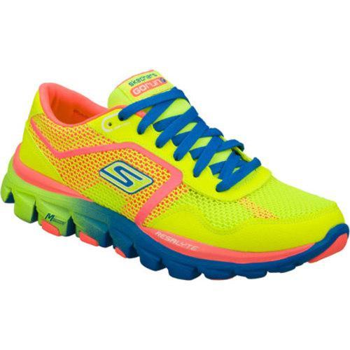 Women's Skechers GOrun Ride Ultra Green/Pink