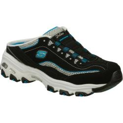Women's Skechers D'lites Essential Black/Blue