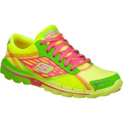 Women's Skechers GOrun 2 Lime/Pink